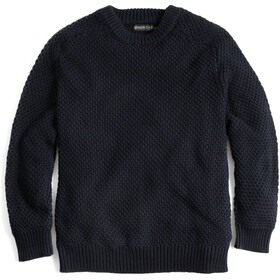 United By Blue Organic Cotton Sweat-shirt à col ras-du-cou Homme, black